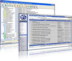 A very good, simple and *free* SMTP server for Windows is Argosoft's Mail  Server for Windows. Please download the free version from the previous  link, ...